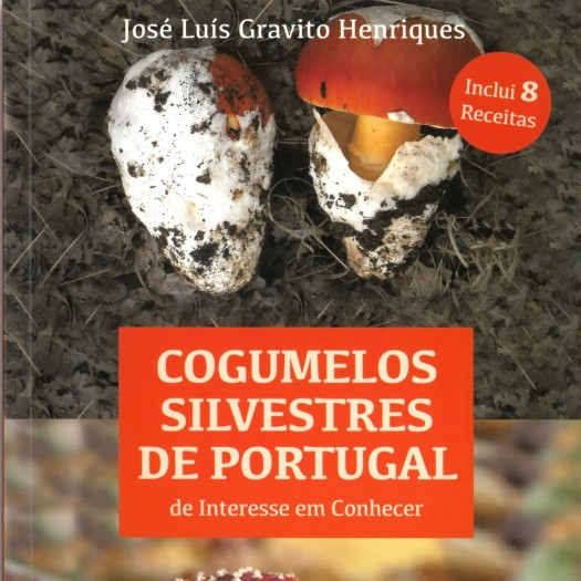 "Livro ""Cogumelos Silvestres de Portugal"""