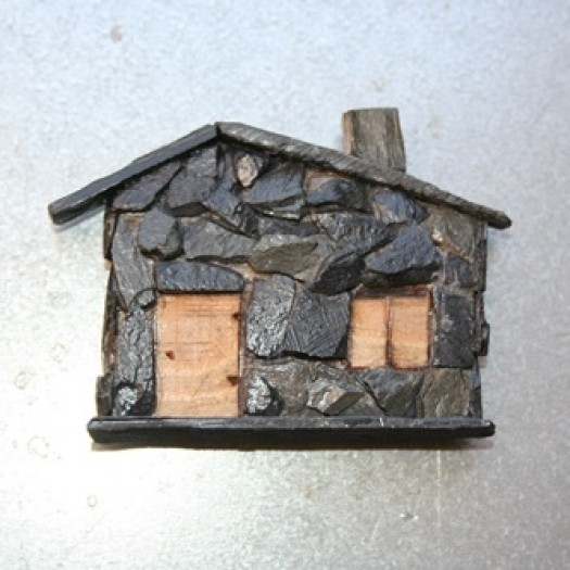 House of Shale - Miniature with Magnet
